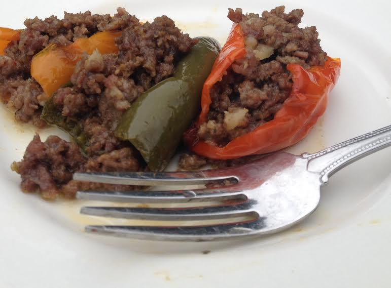 Spicy Stuffed Baby Peppers
