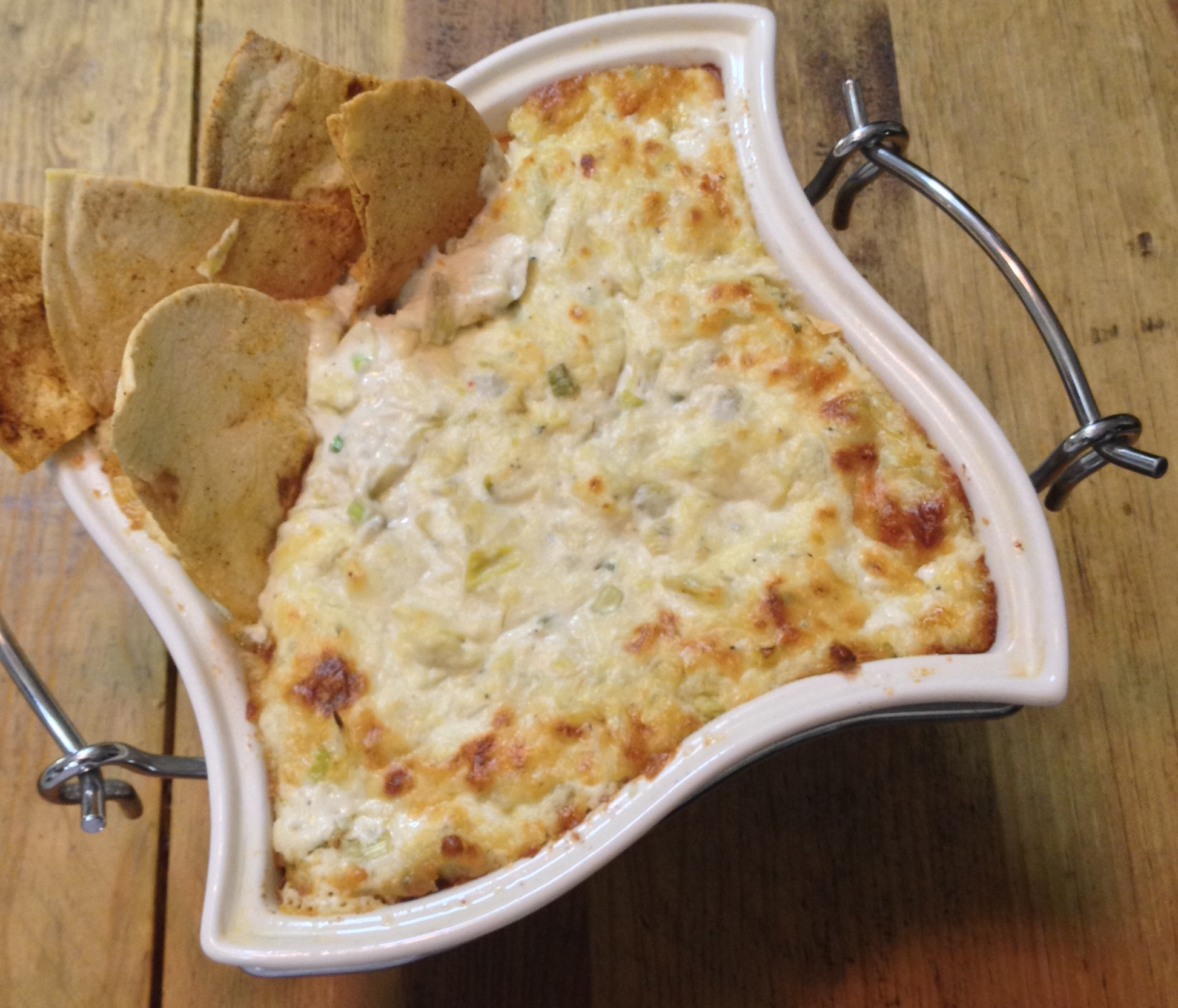 All Cheesed Up Artichoke Dip