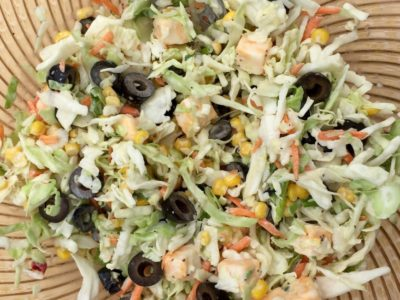 Mexican Corn Coleslaw from Church of the Cross